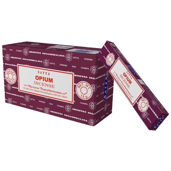 Nag Champa Opium - Røkelsespinner